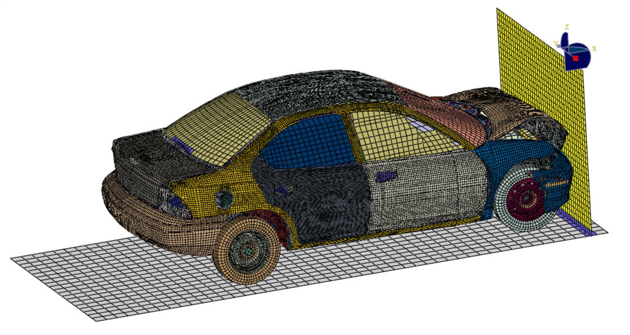 abaqus-car-crash